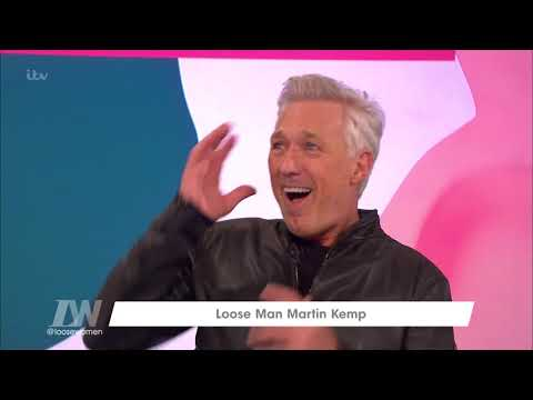 Martin Kemp's Memories of The ITV Studios | Loose Women