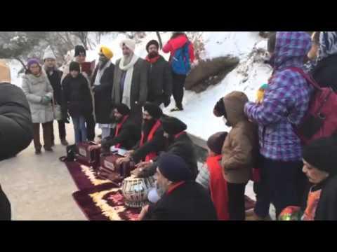 """Bhai Gagandeep Singh ji Performing Kirtan at """"Great Wall of China"""""""