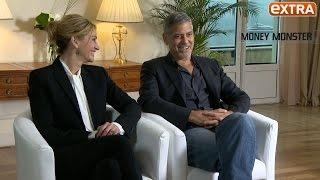 George Clooney & Julia Roberts Talk Carpool Karaoke, Politics and