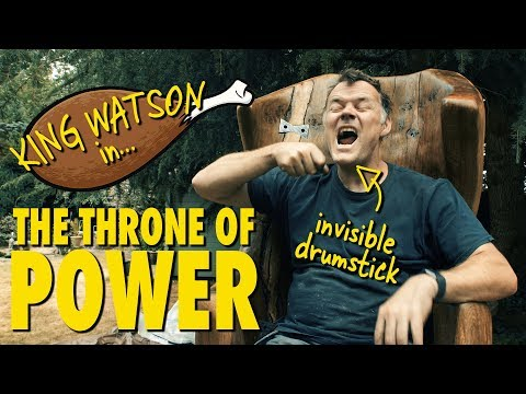 How to make a wooden Throne - (Building the Throne Ep7)