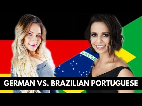 BRAZILIAN PORTUGUESE vs. GERMAN PRONUNCIATION! (feat. Opera Singer Carla Cottini)