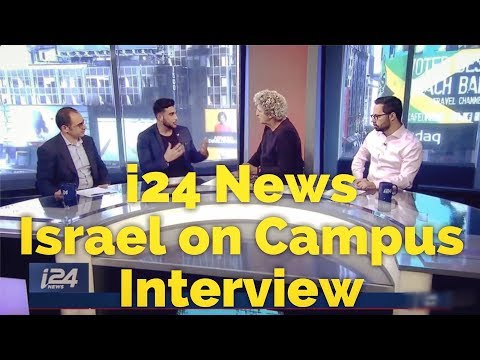 I24 News - Israel On Campus Interview