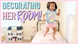 CLEANING & DECORATING SCARLETT'S ROOM!
