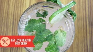 Amazing Fat Loss Drink with real simple detox drink formula ever seen