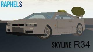 ~Roblox~ - Street Racing Unleashed | Skyline R34 Gtr
