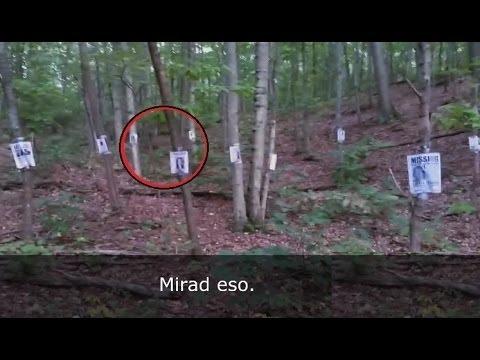 encuentran-las-notas-de-slenderman-en-el-bosque-(video-real)
