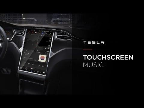 Tesla Touchscreen   Music App