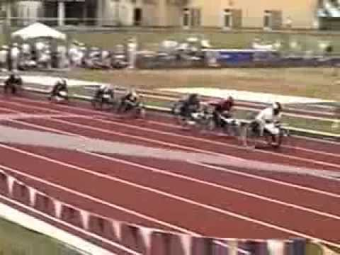 1996 Paralympic Trials T52 1500m