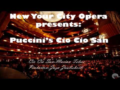 New York City Opera Madama Butterfly Cio Cio San Pinkerton Zaza Zaalishvili