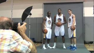 Warriors Draft Picks' First Day At Team HQ
