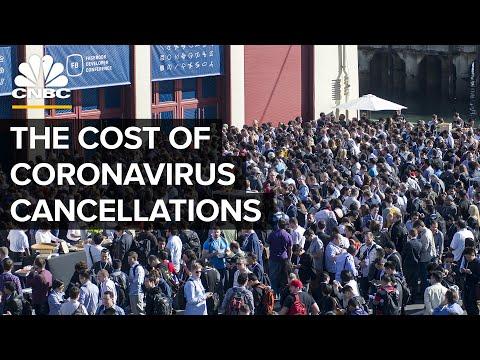 The Economic Impact Of Coronavirus Event Cancellations