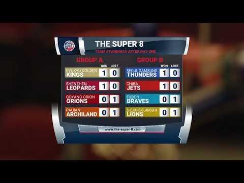 The Super 8 - Day 2 Game 1 (Chiba Jets vs Fubon Braves)