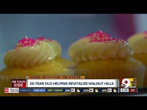 For Walnut Hills business owner, doing what she loves is just the icing on the cake