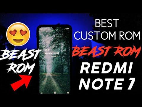 Best Custom ROM for Redmi Note 7 (Lavender) | BEAST ROM REVIEW | Beastrom  for Redmi Note 7 | BEAST!!