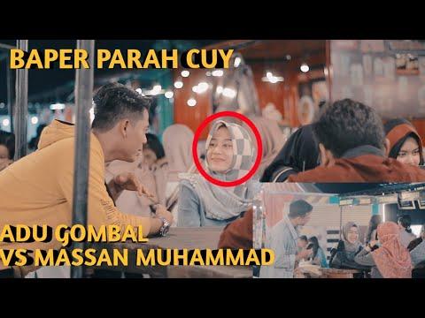 BAPERIN CEWE SATU CAFE !! AUTO BAPER SEMUA 😍  Ft MASSAN MUHAMMAD