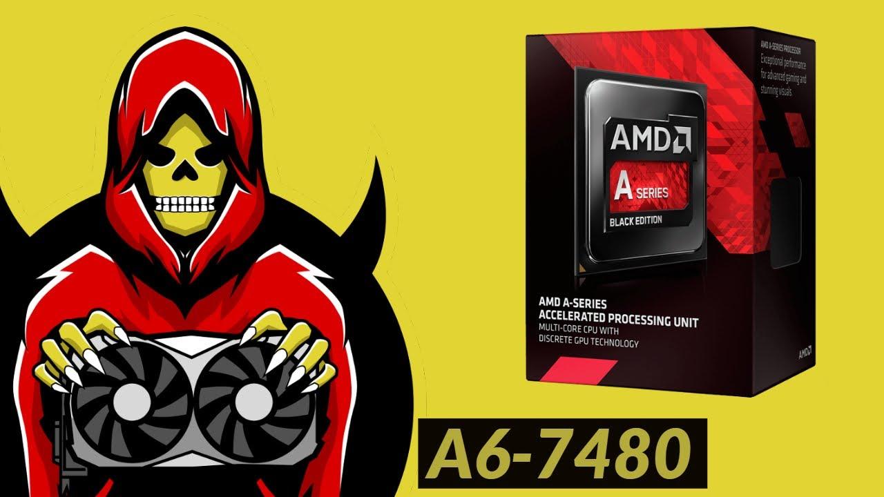 Amd A6 7480 Apu Test In 7 Games Youtube