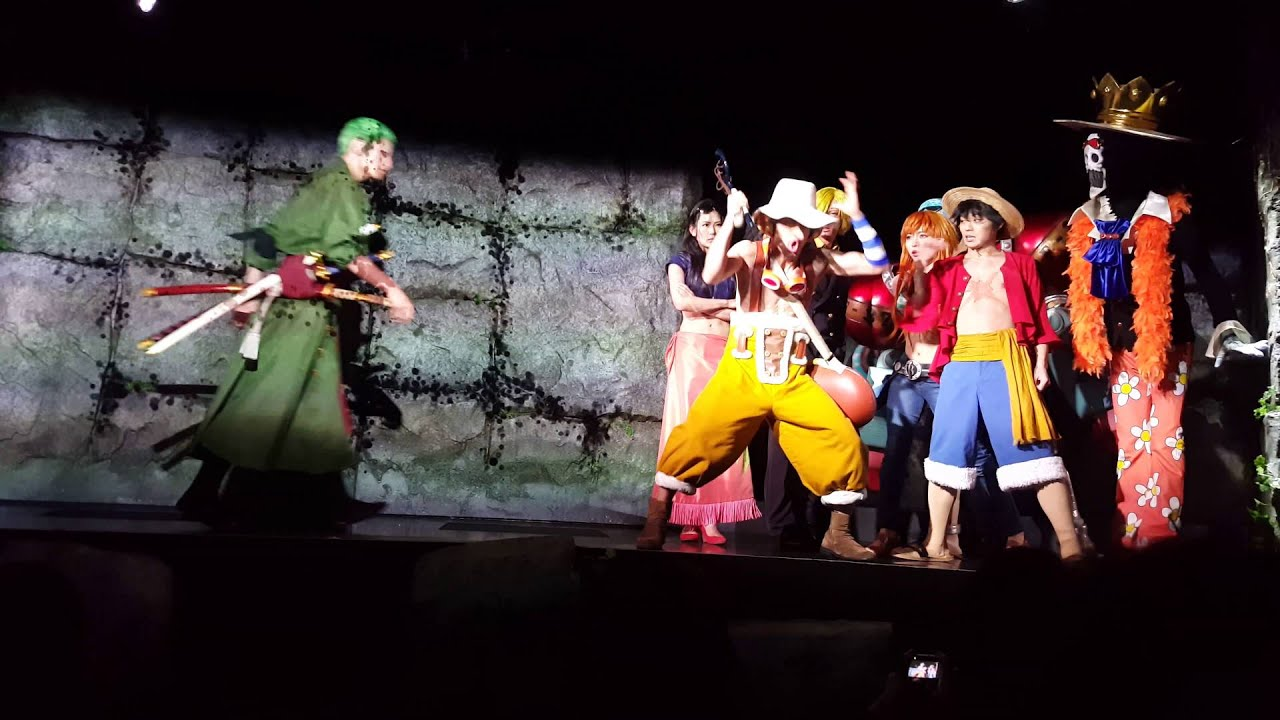 tokyo tower one piece live show youtube