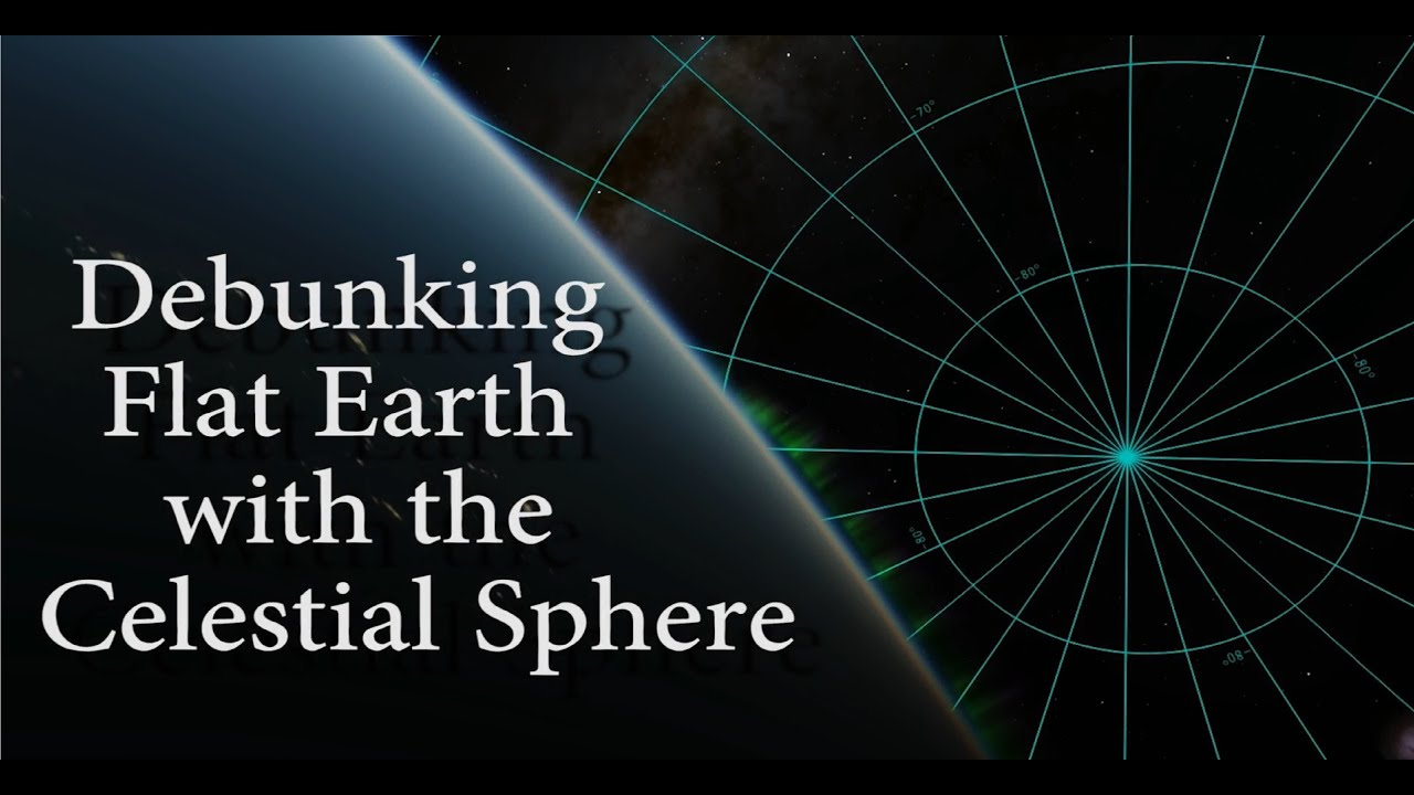Debunking Flat Earth with the Celestial Sphere | Eric Dubay  Huge Blunder