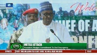 President Buhari Pledges Commitment To End Insurgency