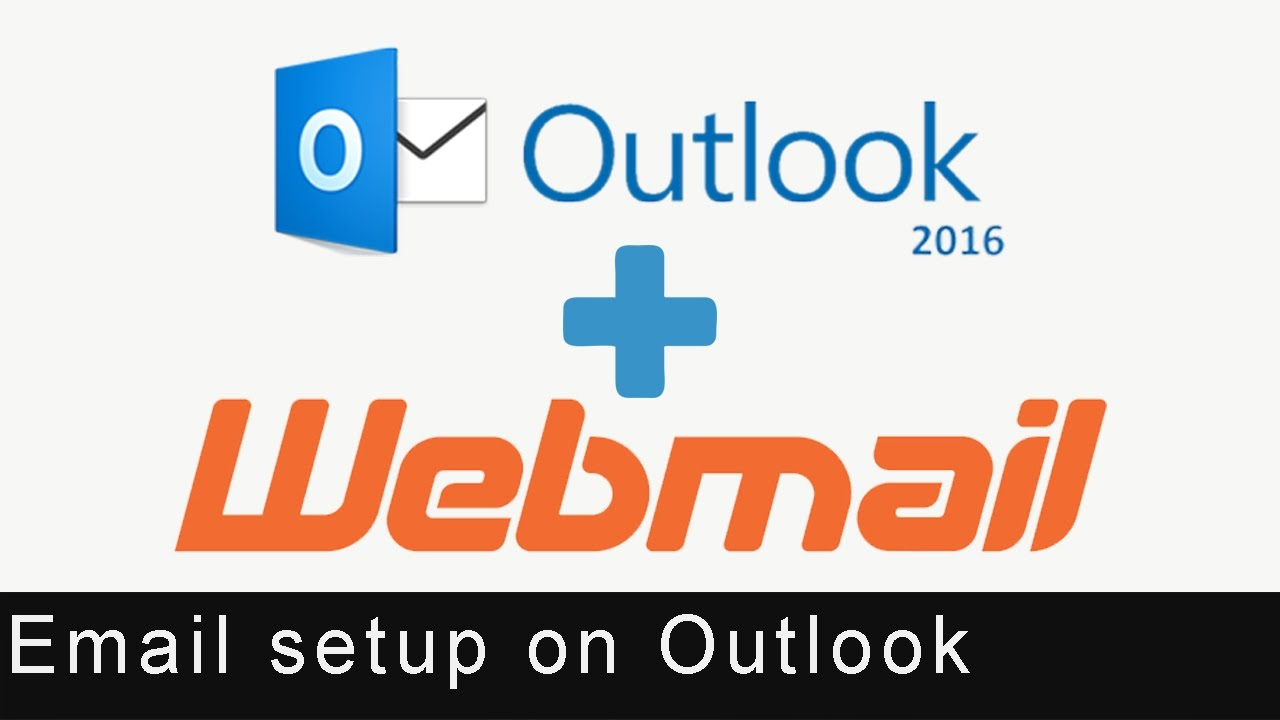 Business / Company Mail Setup over Outlook 2016