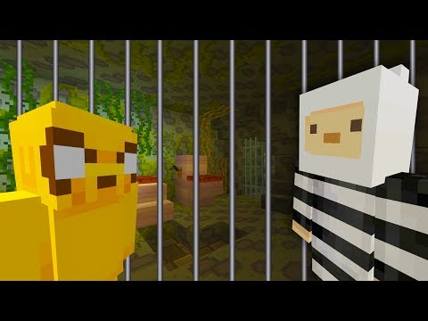 FINN AND JAKE ESCAPES FROM PRISON! | Adventure Time | Minecraft Xbox [4]