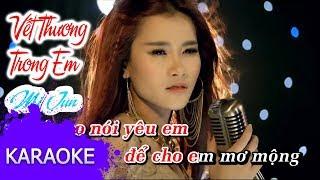 Mi Jun - Vết Thương Trong Em [Karaoke]