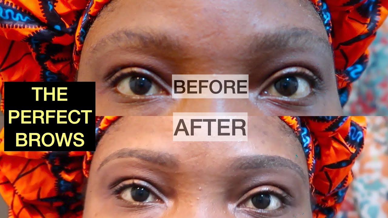 HOW TO GROOM YOUR EYEBROWS AT HOME USING NAIR| TALK ...