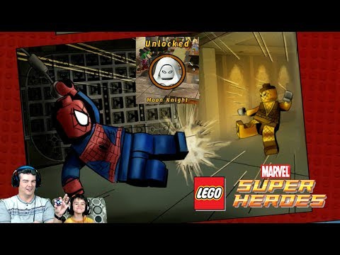 A Shock Withdrawl 2.0 - Lego Marvel SuperHeroes / CollectionDeadpool Mission Unlock Moon Knight