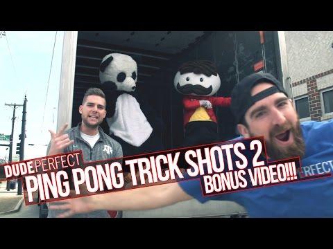 Dude Perfect: Ping Pong Trick Shots 2 BONUS Video