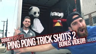 Dude Perfect: Ping Pong Trick Shots 2 BONUS Video