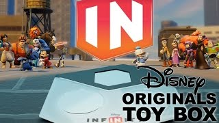 "Disney Infinity Originals ""toy Box Combo"" Review - First 10 Mins & All 9 Characters"