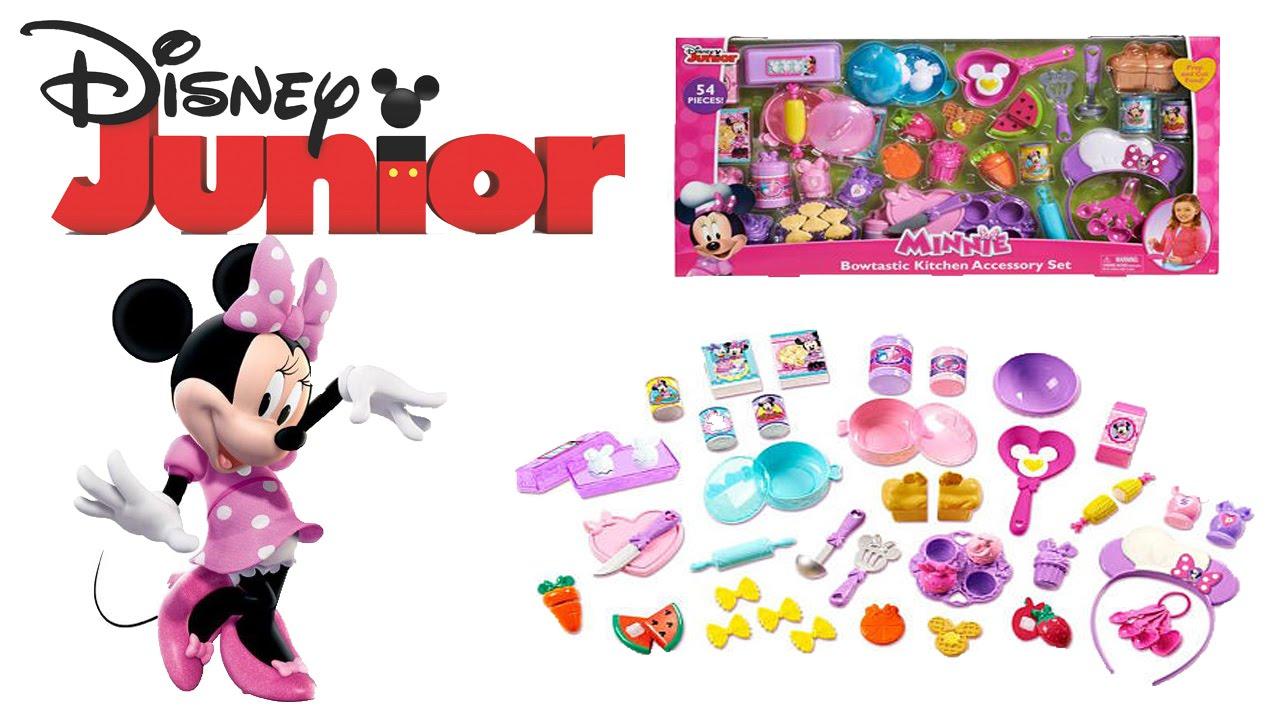 Disney Junior Minnie Mouse Bowtastic Kitchen Accessory Set ...