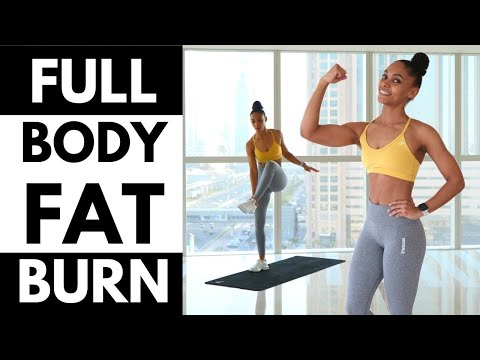 NO EXCUSES Full Body FAT BURN WORKOUT �� (NO Squats NO Lunges NO JUMPING)