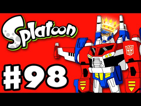 Splatoon - Gameplay Walkthrough Part 98 - Transformers Splatfest: Autobots Queen! (Nintendo Wii U)