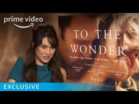 Olga Kurylenko To the Wonder Interview | Amazon Prime Video