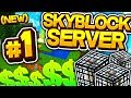 *NEW* SKYBLOCK SERVER LIVE RELEASE! #1 - Minecraft SKYBLOCK Survival (OxiusPVP)
