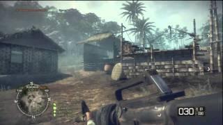 Battlefield Bad Company Vietnam: M16 Gameplay