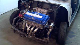 Vtec Mini cooper part 2. UNORTHODOX FABRICATION DROID X VIDEO