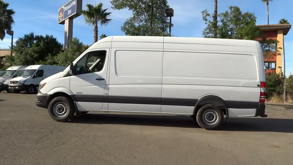 2016 mercedes benz sprinter cargo vans pleasanton walnut for Mercedes benz livermore