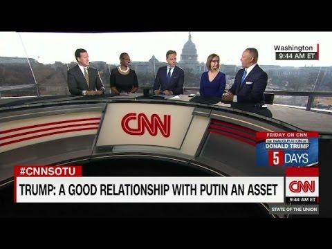 Trump: 'If Putin likes Trump ... that's called ...