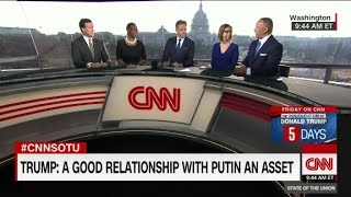 Trump  'If Putin likes Trump     that's called