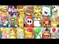 Super Mario Party 〇 All Characters Idle Animations #2