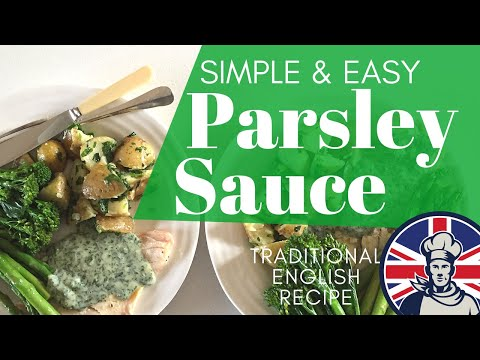Baked Fish With Parsley Sauce Recipe
