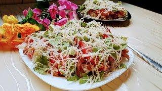 НОВЫЙ салат с жареной картошкой - просто ОБЪЕДЕНИЕ!