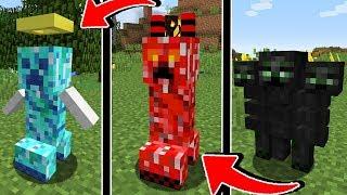 ЭТО 15 НОВЫХ МОБОВ В МАЙНКРАФТ ОЧЕНЬ СТРАШНО ЖЕСТЬ НЕВЕРОЯТНО Minecraft ОБЗОР КРИПЕР ТРОЛЛИНГ