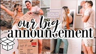 VLOG: WE'RE MOVING!!! Signed a lease and got our FIRST apartment together & decor shopping with us!!