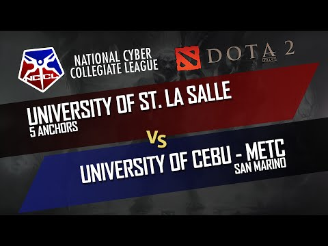 DOTA 2: 5 Anchors vs San Marino (NCCL Group Stage Best of 1) - DUNOO