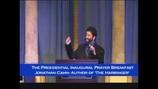 The Presidential Inaugural Prayer Breakfast Guest Speaker Rabbi Jonathan Cahn... Jan 21, 2013