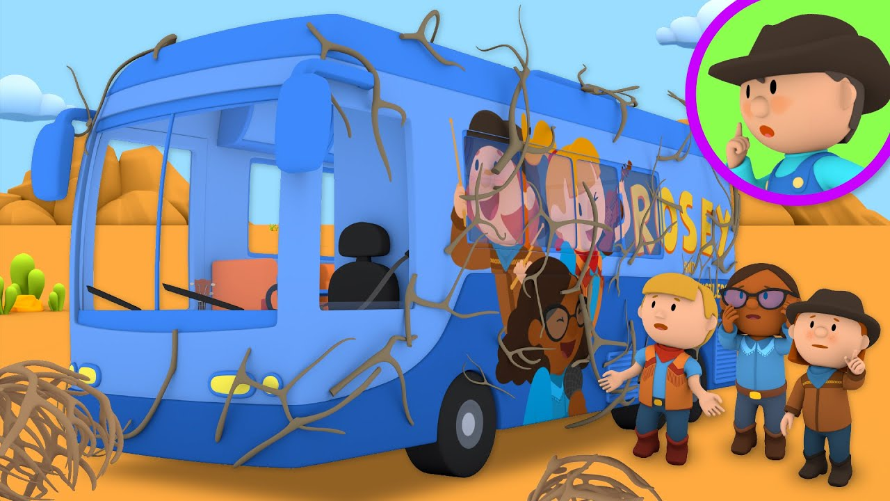 A Concert Tour Bus Goes to Carl's Car Wash   Cartoon for Kids