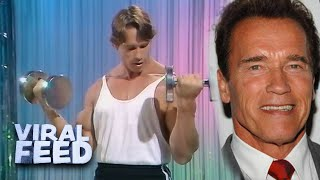 WORK OUT WITH YOЏNG ARNOLD SCHWARZENEGGER | VIRAL FEED